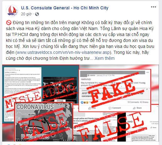 Tổng lãnh sự quán Mỹ: Không có việc ngừng cấp visa cho du học sinh Việt Nam - 1