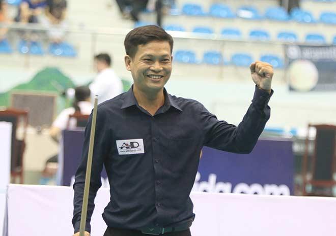 """Lão tướng bi-a Việt thắng sốc """"ông trùm"""", tung seri khiến đối thủ chịu thua - 1"""