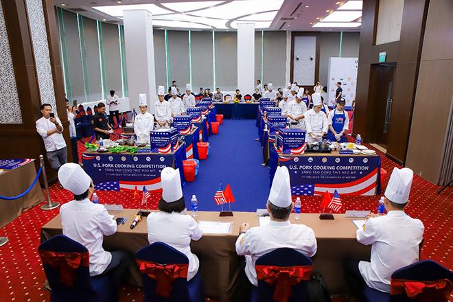 """Cuộc thi ''Sáng tạo cùng thịt heo Mỹ"""": Nơi hội tụ và tỏa sáng của các đầu bếp Việt - 1"""