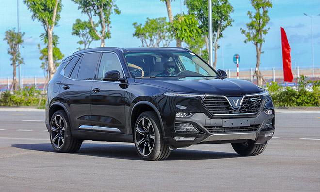 VinFast Lux SA vượt mặt Mazda CX-8 về doanh số bán xe tháng 5/2020 - 1