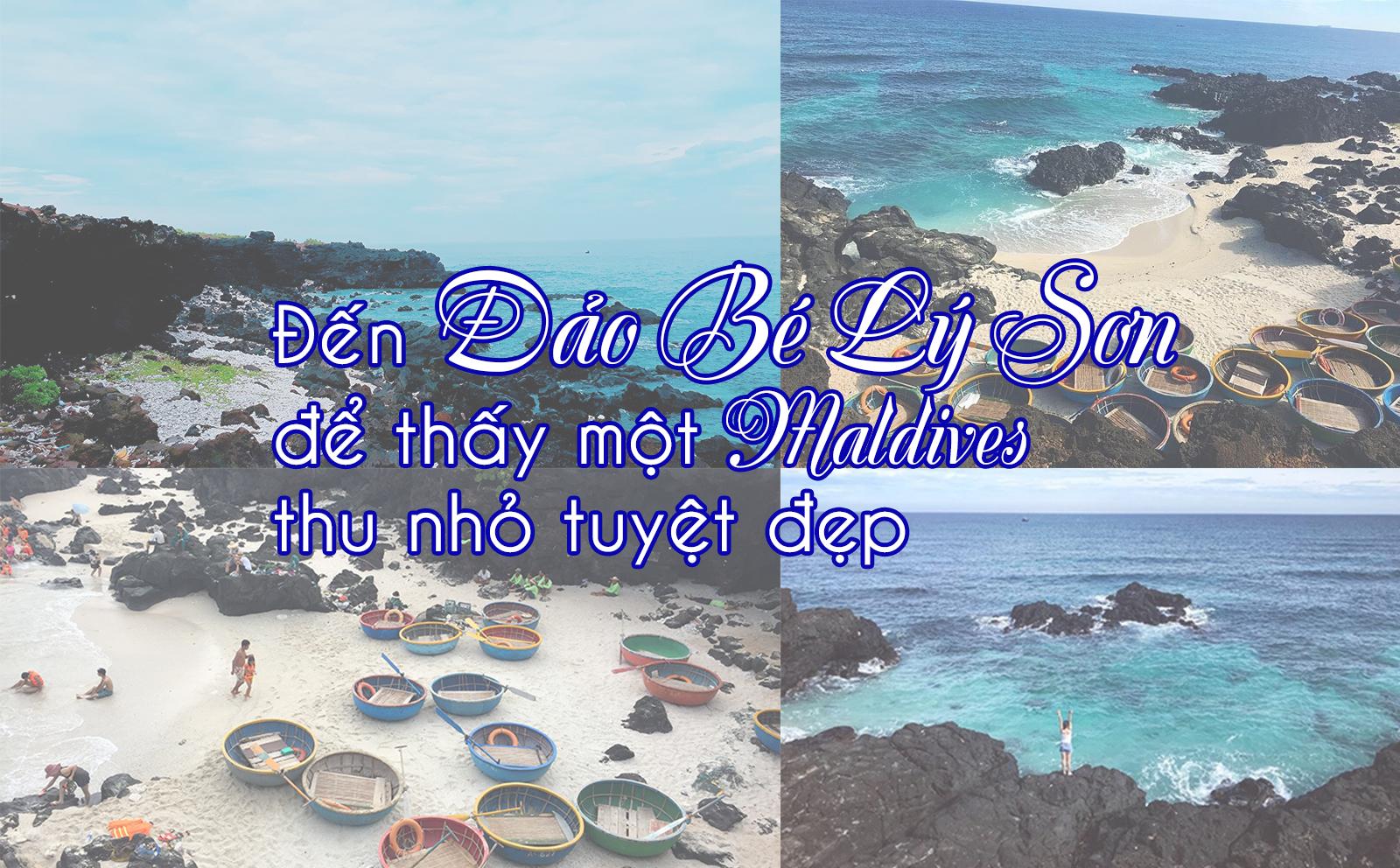 Đến Đảo Bé Lý Sơn để thấy một Maldives thu nhỏ tuyệt đẹp ở Việt Nam - 1