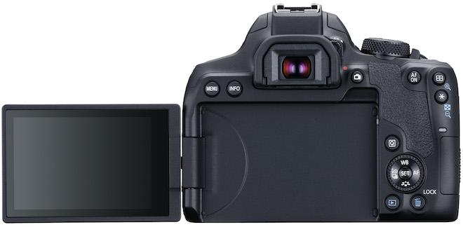 """Máy ảnh Canon EOS 850D trình làng: Màn hình xoay, ISO """"khủng"""", có Wi-Fi - 1"""
