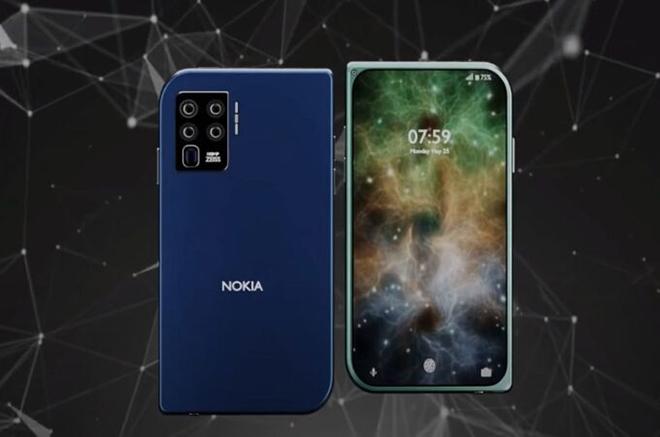 """Ý tưởng Nokia 7610 5G với camera """"ảo tung củ chảo"""" - 1"""