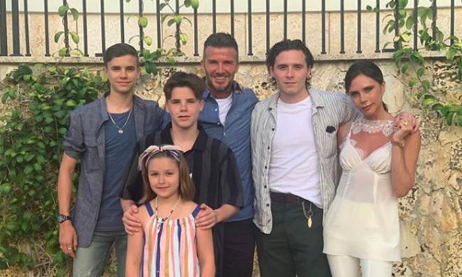 12 câu nói ấn tượng về việc dạy con ngoan của David Beckham - 1