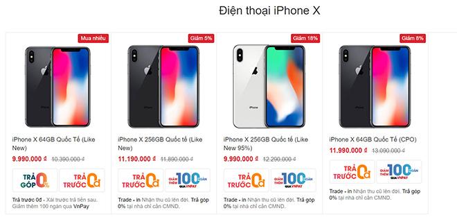 iPhone X giảm xuống còn dưới 10 triệu đồng liệu còn đáng mua? - 1