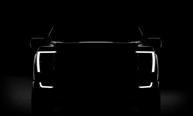 Ford F-150 2021 chính thức lộ diện qua teaser, hầm hố và cơ bắp hơn - 1