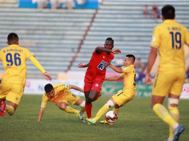 Trực tiếp bóng đá Nam Định - Hải Phòng: Không có bàn thắng danh dự (Hết giờ)
