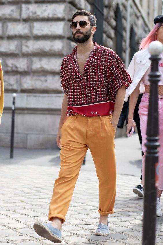 Quý ông mặc sao cho phong cách, nổi bật và phóng khoáng mùa hè - 1