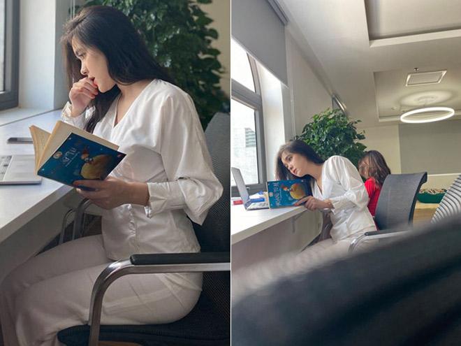 """Bị chụp lén ở thư viện, cô gái khiến dân mạng """"săn lùng"""" vì quá xinh - 1"""