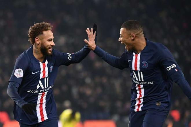Cực sốc: PSG có 4 ca dương tính Covid-19, Neymar-Mbappe có an toàn? - 1