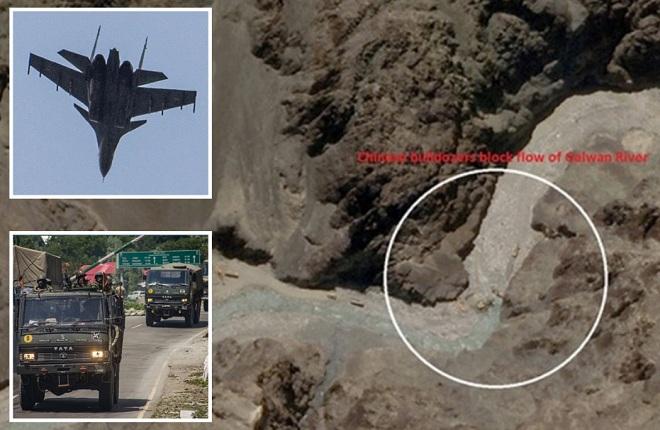 Ấn Độ phô diễn sức mạnh quân sự chưa từng thấy ở nơi đụng độ chết người với TQ - 1