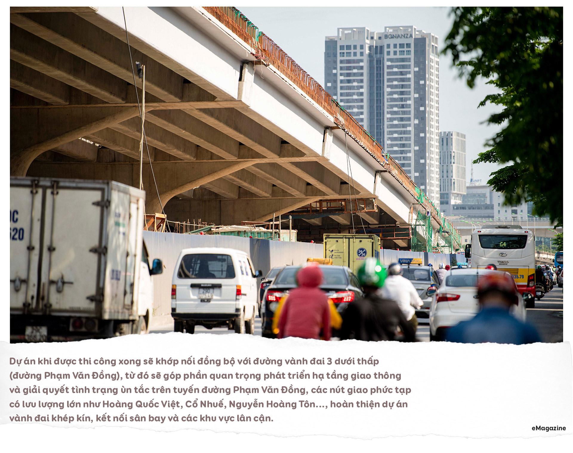 Diện mạo cầu cạn hơn 1.000 tỷ đồng/1 km nối với cây cầu 2 tầng độc nhất - 13