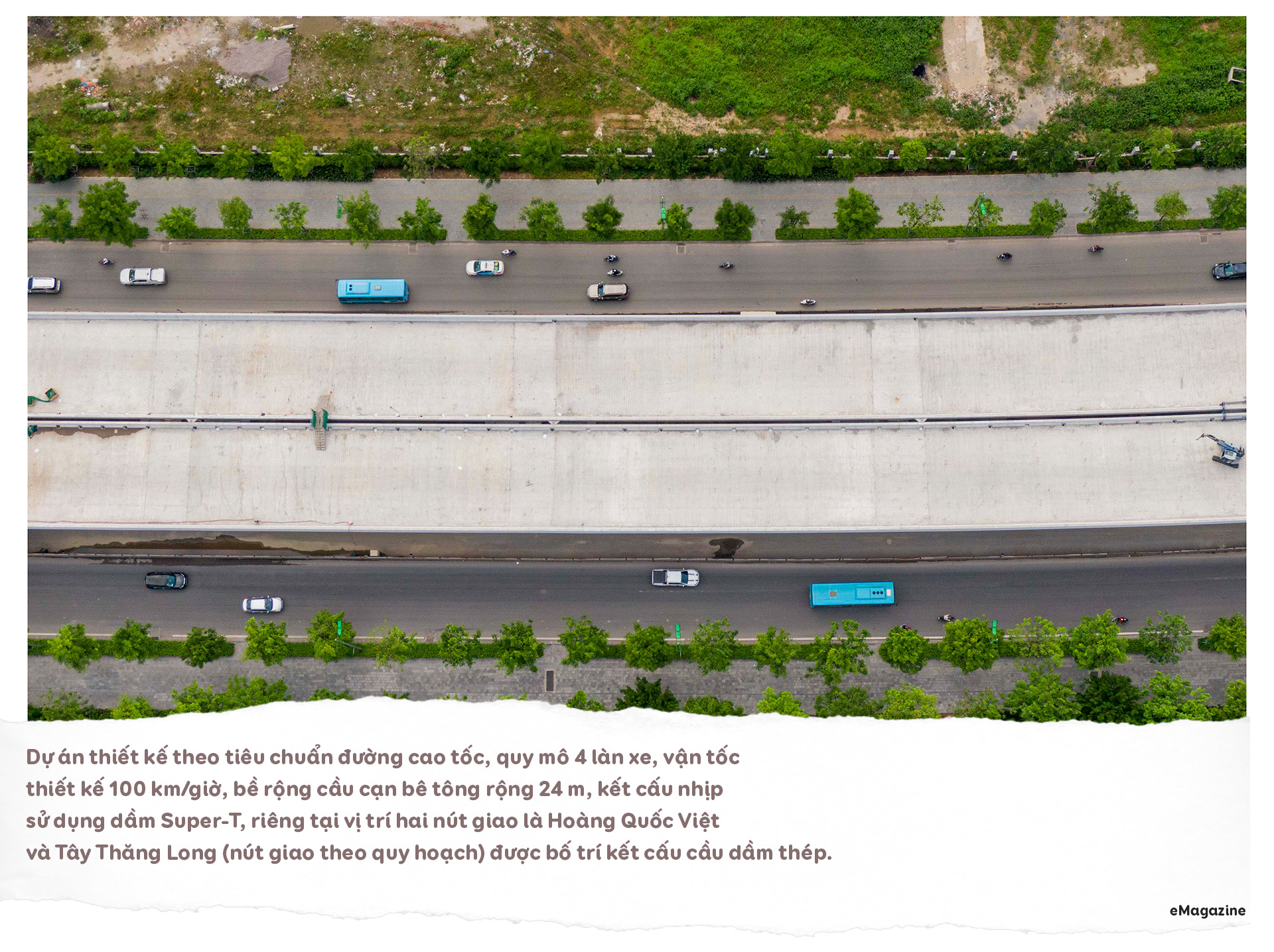 Diện mạo cầu cạn hơn 1.000 tỷ đồng/1 km nối với cây cầu 2 tầng độc nhất - 7