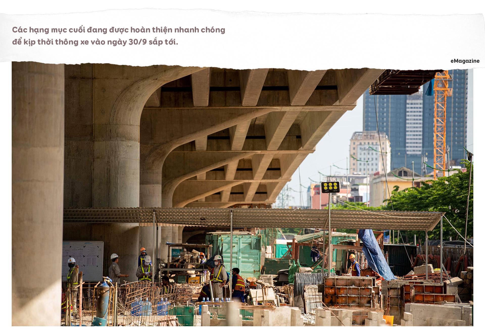 Diện mạo cầu cạn hơn 1.000 tỷ đồng/1 km nối với cây cầu 2 tầng độc nhất - 10