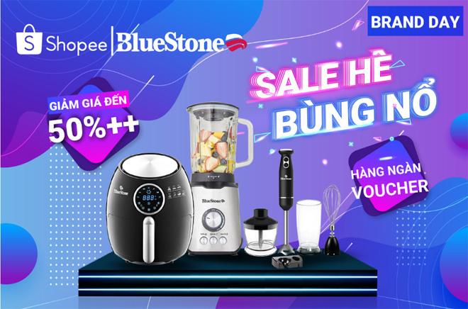 Bluestone đồng loạt giảm giá đến 50% toàn bộ sản phẩm tại gian hàng chính hãng trên Shopee - 1