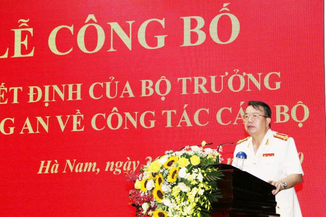 Giám đốc Công an Hà Nam làm Cục trưởng Cảnh sát giao thông thay Trung tướng Vũ Đỗ Anh Dũng - 1