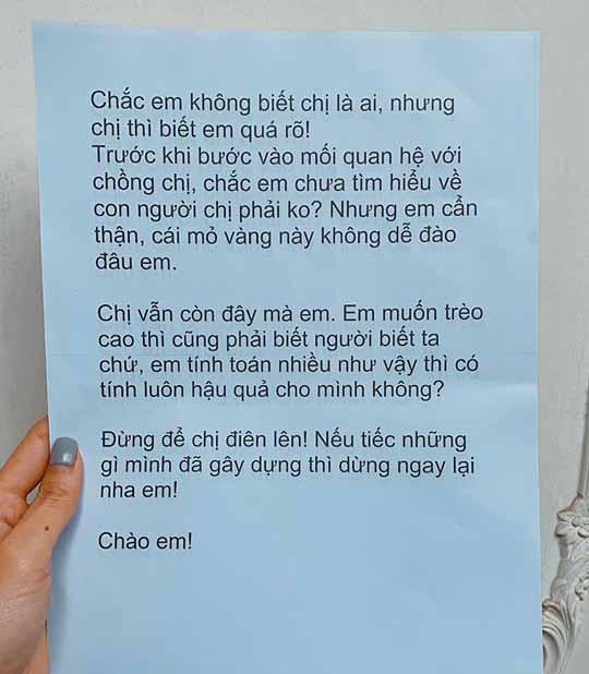 Minh Hằng bị gửi thư nặc danh tố giật chồng: Sự thật ngã ngửa - 1