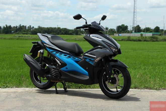 Đánh giá Yamaha Aerox 155 R-Version, đối thủ mạnh của Air Blade 150 - 1