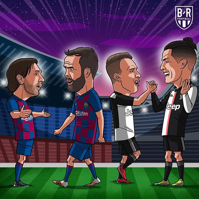 """Ảnh chế: Barca có pha đổi người """"cồng kềnh"""" khiến fan ngán ngẩm - 1"""