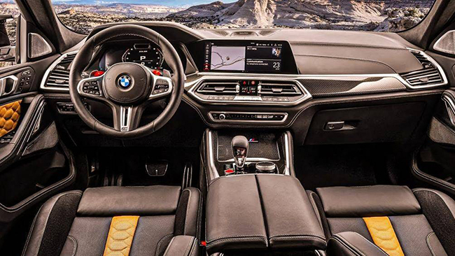 3. BMW X6 M Competition