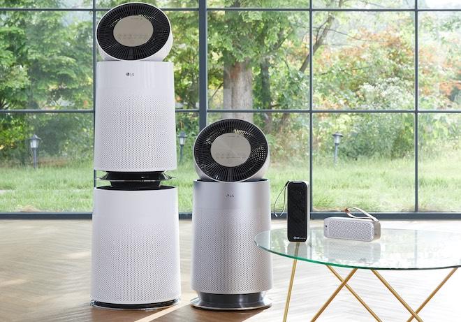 """LG ra mắt máy lọc không khí PuriCare 360 độ, """"bắt"""" được bụi siêu mịn PM1.0 - 1"""