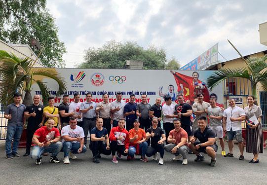 Thể hình Việt hướng tới SEA Games 31 - 1
