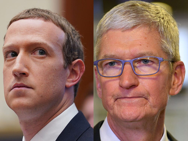 "Tim Cook lại ""cà khịa"" Facebook sau vụ rò rỉ dữ liệu - 1"