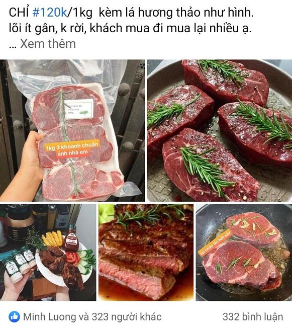 Giật mình thăn lõi bò Úc giá rẻ hơn thịt lợn, chị em đổ xô đặt mua hàng tạ - 1