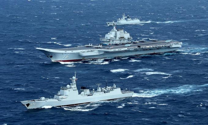 Tàu sân bay TQ để lộ điểm yếu khi ra khơi tập trận gần Đài Loan? - 1