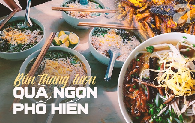 Bún thang lươn: Món đặc sản Hưng Yên không chỉ ngon còn tốt như thang thuốc quý - 1