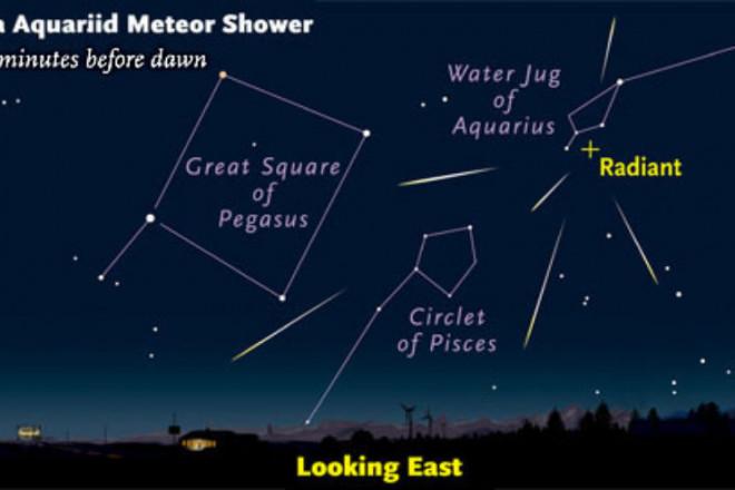 Tonight, Vietnam welcomed 'peak'.  Meteor shower from the famous Halley comet - 3
