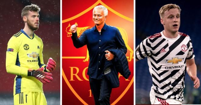 "Mourinho ủ mưu ""MU hóa"" Roma, dụ De Gea và Van De Beek về thống trị Serie A - 1"