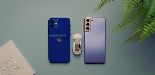 Chỉ chênh nhau 1 triệu, nên mua iPhone 12 hay Galaxy S21? - 1
