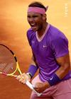 Live tennis Djokovic - Nadal: The hinge break point in set 1 (Rome Masters Final) - 2