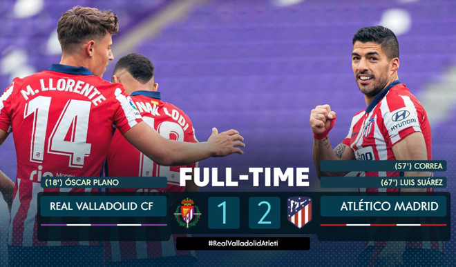 Nóng bảng xếp hạng chung cuộc La Liga: Tôn vinh Atletico, Real tiếc nuối - 1