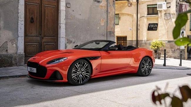 10. Aston Martin DBS Superleggera Volante