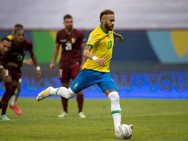 Video Brazil - Venezuela: Khởi đầu mỹ mãn, điểm nhấn Neymar (Copa America) - 1