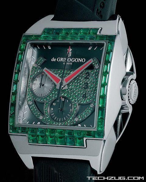 Ngắm đồng hồ kim cương độc nhất thế giới! (P1) - 17