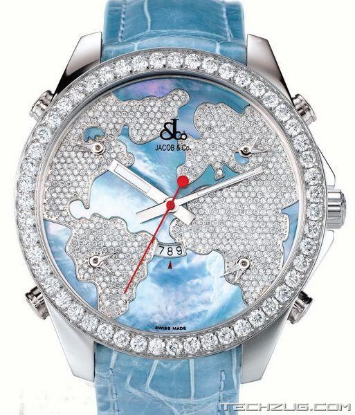 Ngắm đồng hồ kim cương đắt giá nhất thế giới (Phần 2) - 1