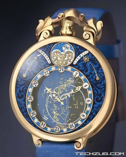 Ngắm đồng hồ kim cương đắt giá nhất thế giới (Phần 2) - 9