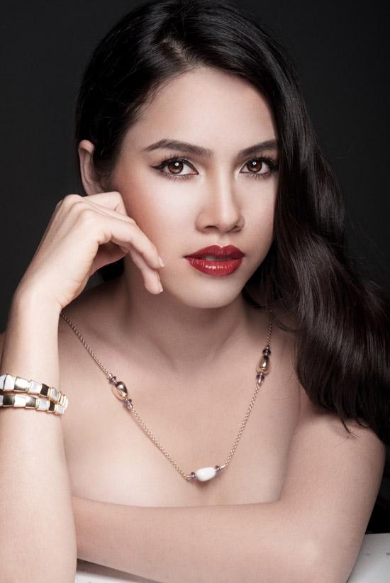 Hoàng My quyết tâm lớn cho Miss World - 1