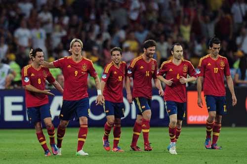 Đội hình tiêu biểu Euro: TBN thống trị - 1