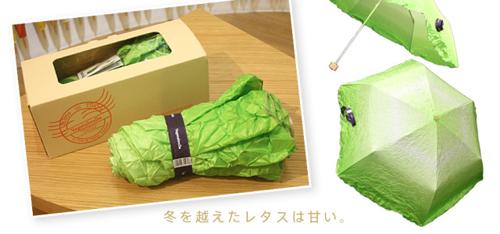 Chiếc ô có hình cây rau diếp - 1