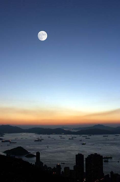 Hong Kong đẹp lung linh về đêm - 1