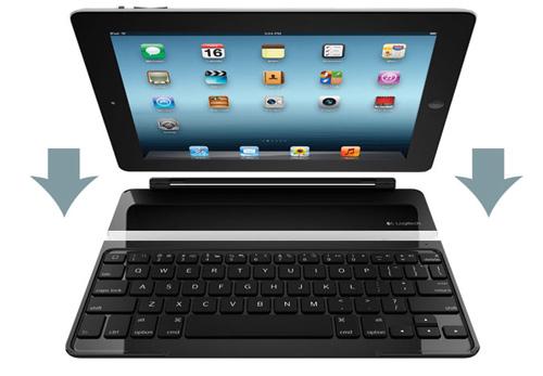 Bàn phím Logitech Ultrathin Cover cho iPad - 1