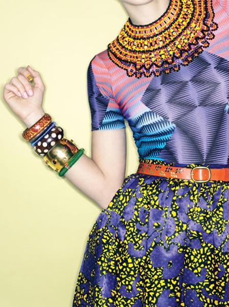 Mix đồ đẹp với trang phục họa tiết - 1