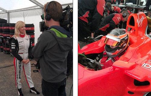 """F1: """"Bóng hồng"""" gặp tai nạn thảm khốc trước British GP - 1"""