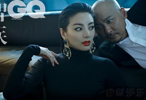 Vợ chồng Trương Vũ Kỳ sexy trên GQ - 1