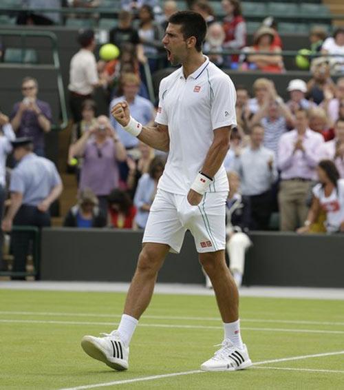 Djokovic dè chừng Federer - 1