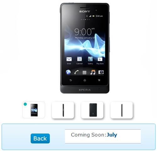 Sony Xperia Go 'dế' tầm trung chống nước - 1
